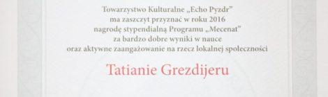 """""""Mecenat"""" dla zdolnych Polaków w Naddniestrzu"""